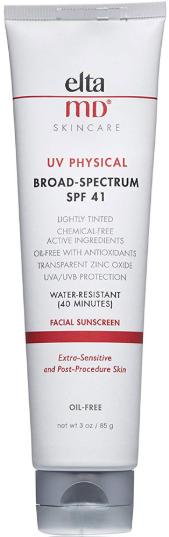 EltaMD UV Physical солнцезащитное средство для лица SPF41 85 г