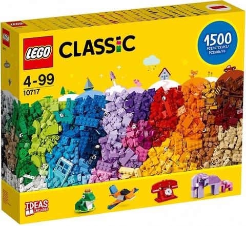LEGO Classic: Кубики, кубики, кубики! 10717 — Extra Large Brick Box — Лего Классик