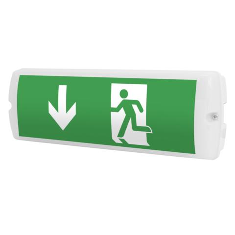 Эвакуационные указатели выхода Libra 3PLED B234 OP TEST