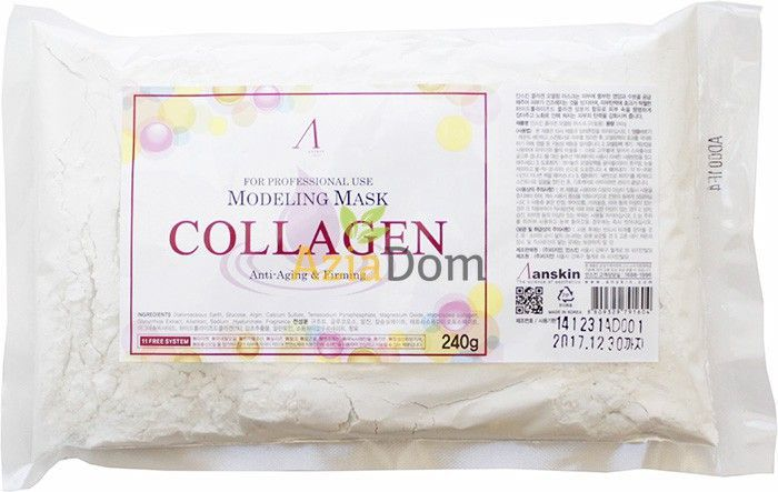 ANSKIN Modeling Mask Collagen Anti-Aging & Firming 240g