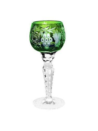 Стопки Рюмка для ликера 60мл Ajka Crystal Grape зеленая ryumka-dlya-likera-60ml-ajka-crystal-grape-zelenaya-vengriya.jpg