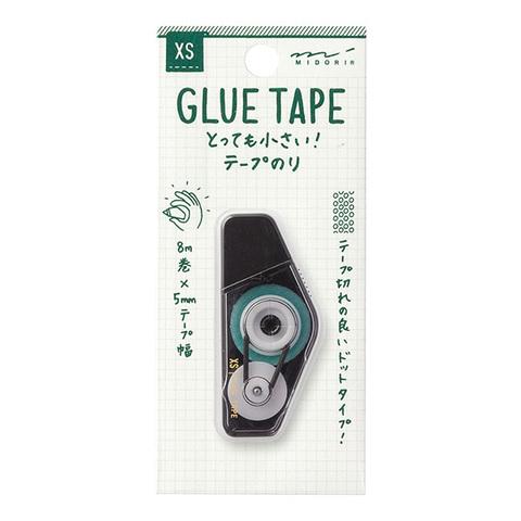 Мини клей-роллер Midori XS Glue Tape чёрный