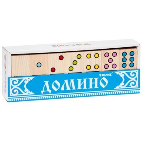 Домино деревянное Точки, Томик, арт. 5655-2