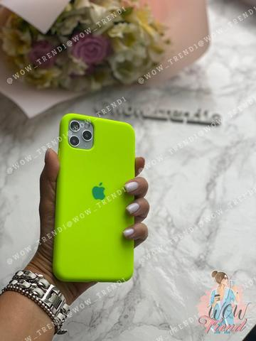 iPhone 11 Pro Max Silicone Case Full /juicy green/