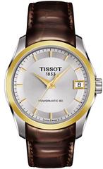Женские часы Tissot T035.207.26.031.00 Couturier Powermatic 80 Lady