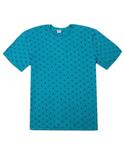 4150-3 футболка мужская, бирюзовая