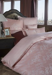 Постельное белье 2 спальное евро Curt Bauer Juliette розовое