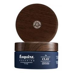 Esquire Grooming The Clay - Глина для укладки волос (Сильная фиксация/Матирующий эффект)
