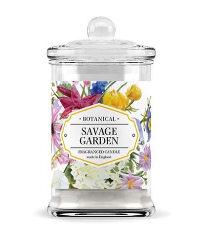 Свеча ароматическая в стекле Дикий сад, Bago home