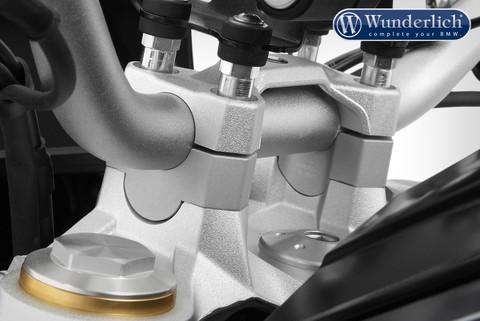 Проставки руля c подготовкой под крепление навигатора BMW F 850 GS