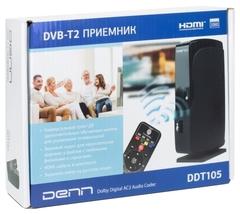 Цифр. приемник DVB-T2 DENN DDT105