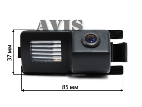 Камера заднего вида для Infiniti G35 Avis AVS326CPR (#062)