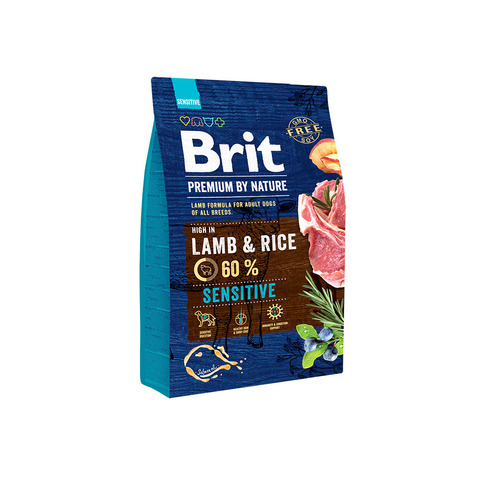 Brit Premium Sensitive  Lamb & Rice