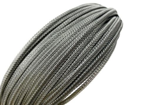 Косточка спиральная металлическая 4х0.6 мм