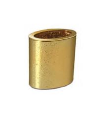 Стакан для зубных щеток Windisch 91307O Oval Gold