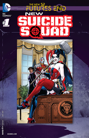 Futures End New Suicide Squad Lenticular Cover