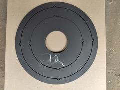 Металлические кольца под печь 12 литров