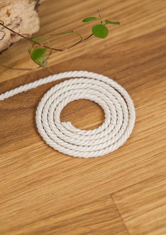 Хлопковый витой шнур 3 мм