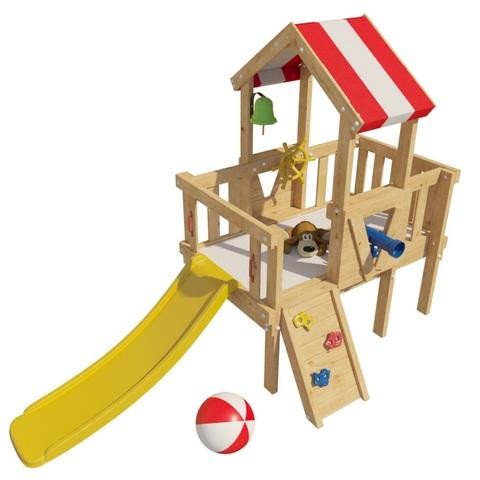 Детская деревянная игровая кровать-чердак