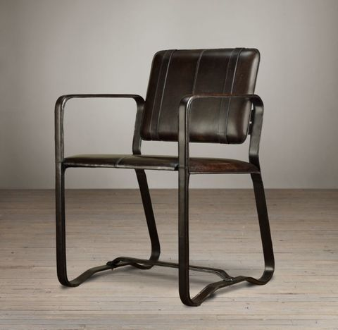 Buckle Chair - Chocolate Brown