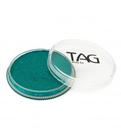 Аквагрим TAG 32гр перламутровый зеленый