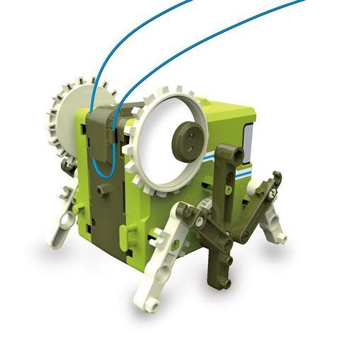 Электромеханический конструктор ND Play На элементах питания Робот-старикашка 4 в 1
