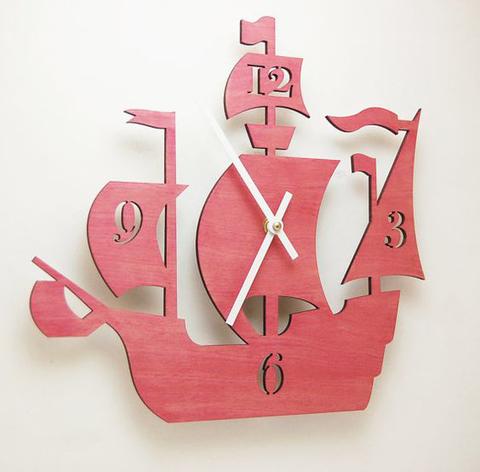 детские часы корабль
