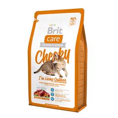 Brit Care Cat Cheeky Outdoor для активных кошек и кошек уличного содержания