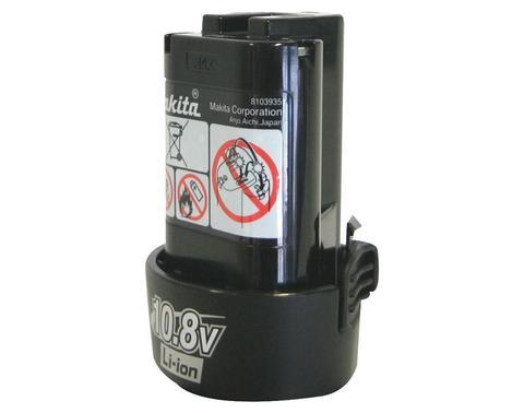 Аккумулятор для шуруповертов Makita 10.8В, 1.3Ач, Li-ion .
