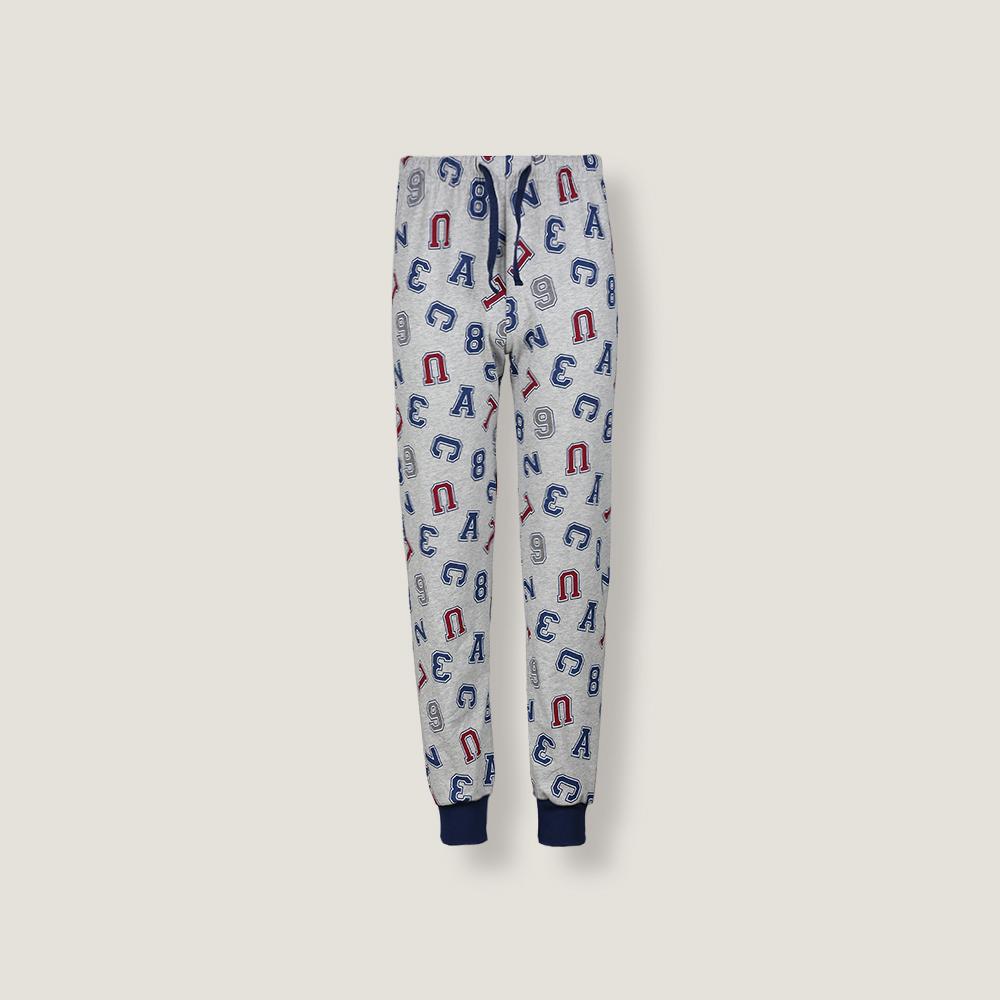 Детские мужские брюки пижамные E19K-73D101