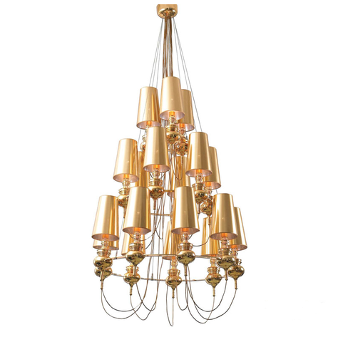 replica Jaime Hayon  Josephine chandalier 16 lamps (gold)