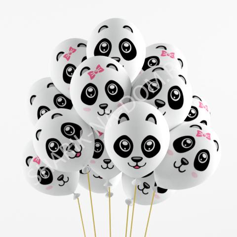 """Детям Воздушные шары """"Панды"""" Шары_Панды.jpg"""