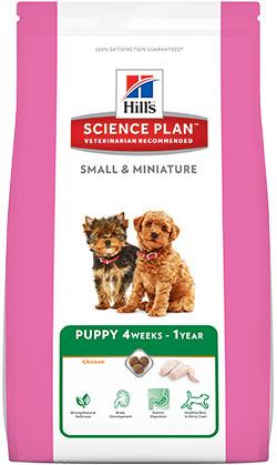 Hill's Корм для щенков мелких и миниатюрных пород Hill's Science Plan Puppy Small & Miniature, с курицей мини_щ.jpg