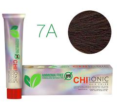 7A CHI Ionic (Темный-пепельный блондин) - стойкая БЕЗАММИАЧНАЯ краска для волос 90мл