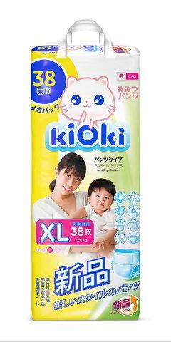 kiOki Детские подгузники-трусики XL (12-16 кг) 38 шт.