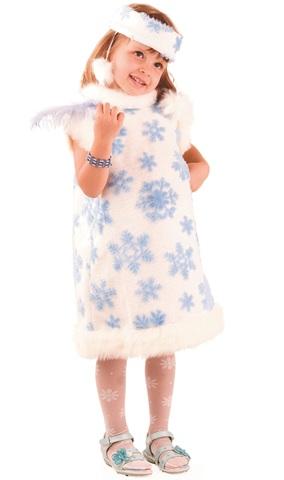 Костюм Снежинка для девочки