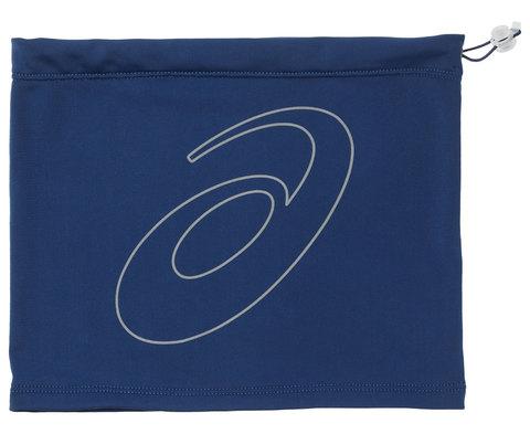 ASICS LOGO TUBE шарф-труба с затяжками синяя