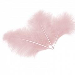 Перья Ярко-розовые, 30шт