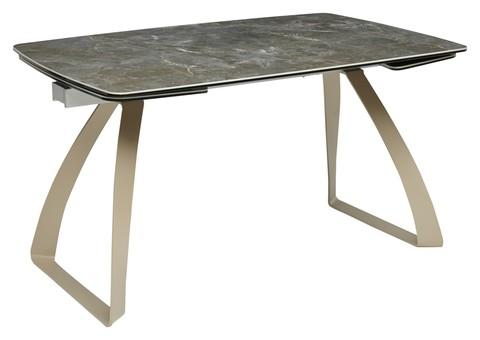 Стол ECLIPSE 137 прямоугольный раскладной с керамическим покрытием