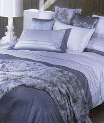 Постельное белье 2 спальное евро макси Byblos Nomade Bianco