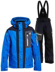 Горнолыжный костюм 8848 Altitude Aragon  Defender JR Blue-Black детский