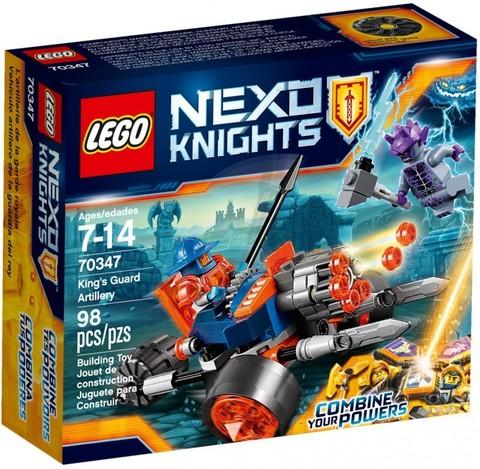 LEGO Nexo Knights: Самоходная артиллерийская установка королевской гвардии 70347 — King's Guard Artillery — Лего Нексо Рыцари