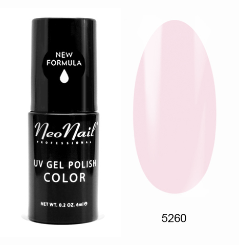 NeoNail Гель лак UV 6ml Strawberry Cake №5260-1