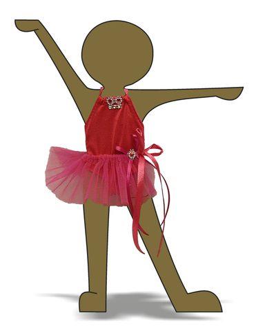 Купальник - Демонстрационный образец. Одежда для кукол, пупсов и мягких игрушек.