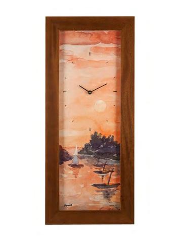 Часы настенные Lowell 12112