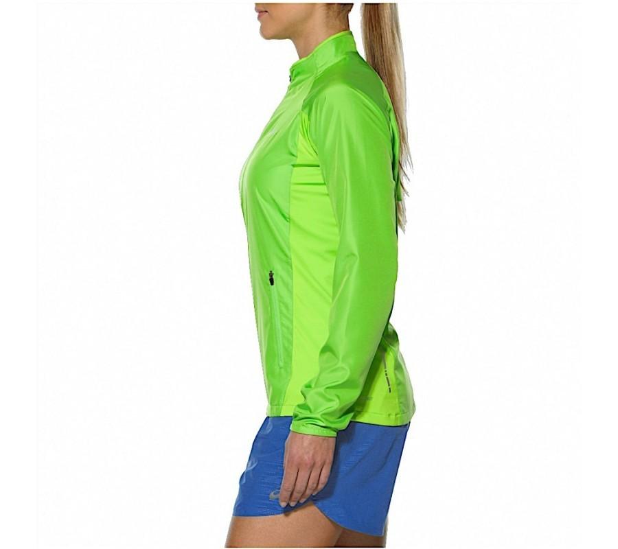 Женская беговая ветровка Asics Woven Jacket (110426 0473) лайм фото