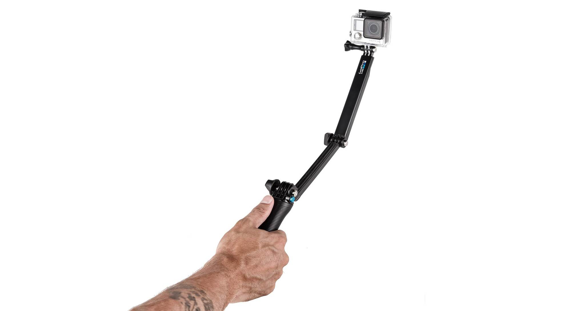 Монопод-штатив GoPro AFAEM-001 3-Way Mount - Grip/Arm/Tripod в руке