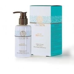 Styling Cream For Hair - Молочко моделирующее с маслом арганы и маслом семян льна