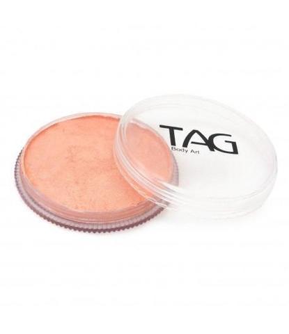 Аквагрим TAG 32гр перламутровый абрикосовый