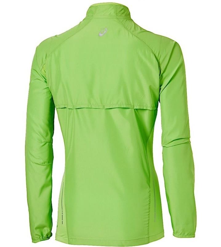Женская спортивная ветровка Asics Woven Jacket (110426 0473) лайм фото